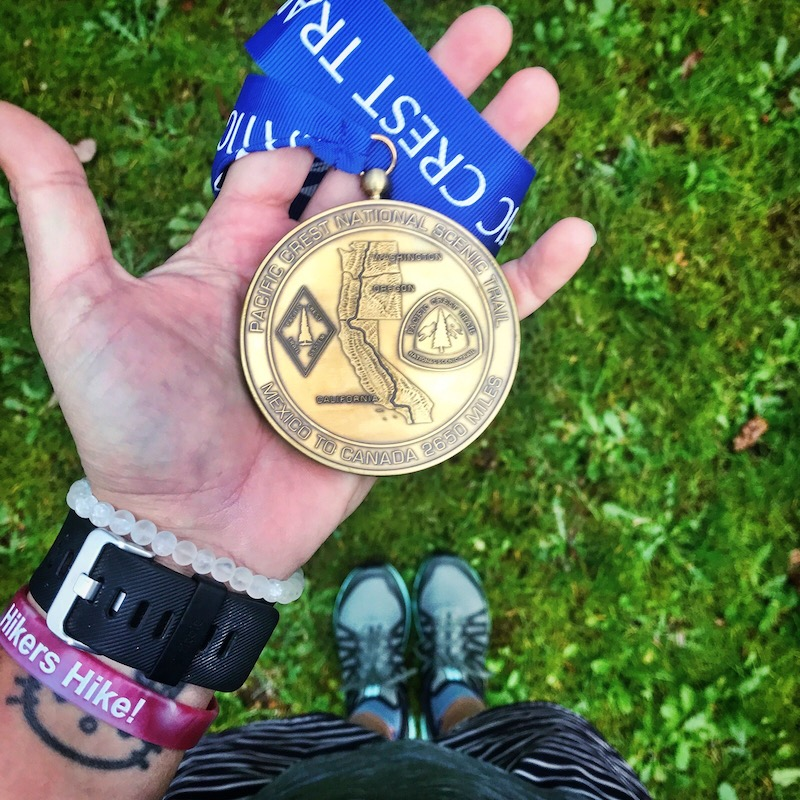 PCT Completion Medal