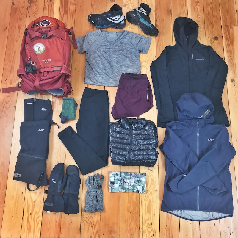 Cold Weather Hiking Gear
