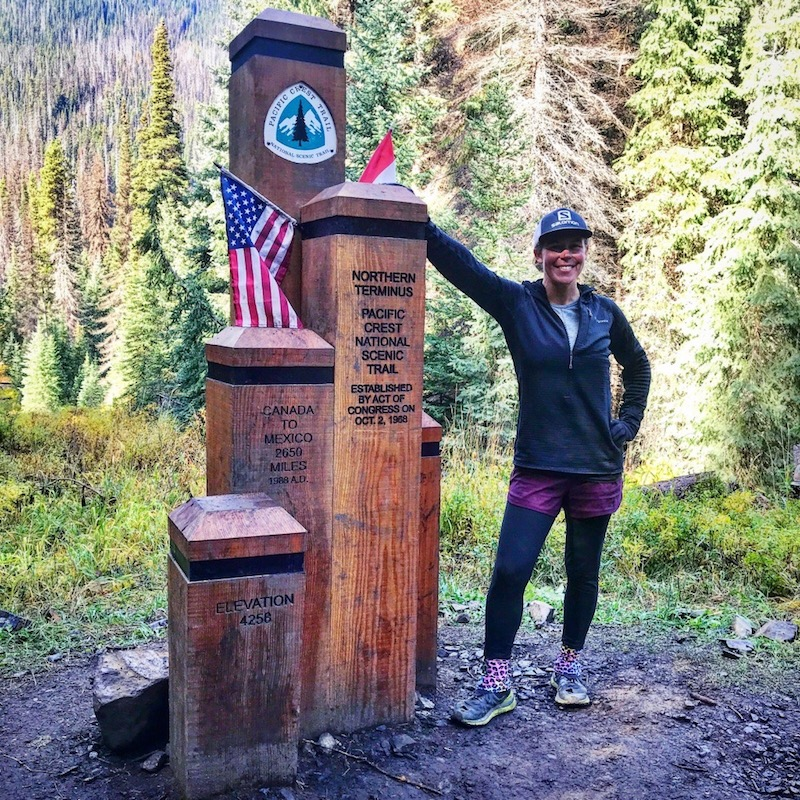 Northern Terminus on the PCT