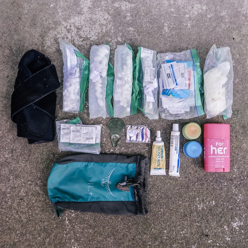 Current PCT Backcountry First Aid Kit