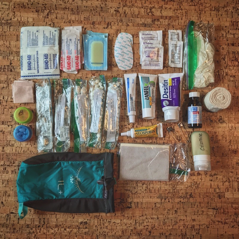First PCT Backcountry First Aid Kit