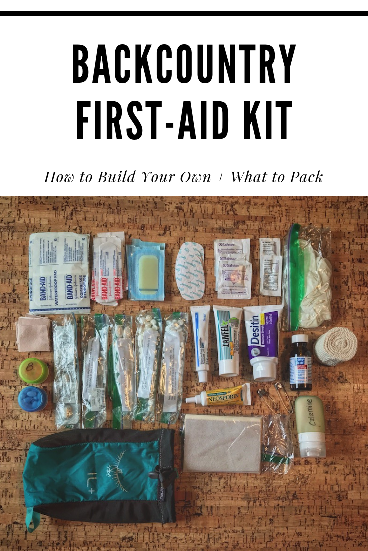 Pin It Backcountry First-Aid Kit