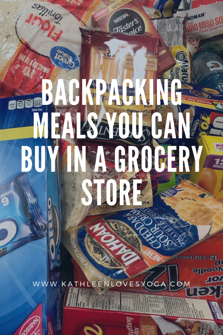 Pin It – Grocery Store Backpacking Meals